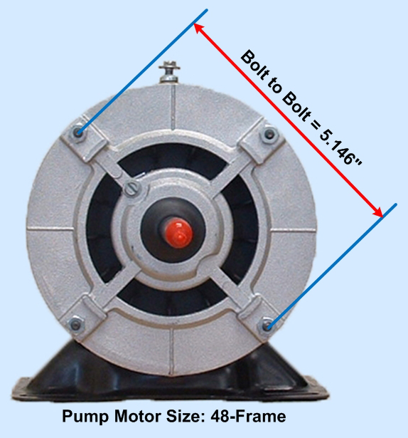 BN51 Thru-Bolt Dimensions