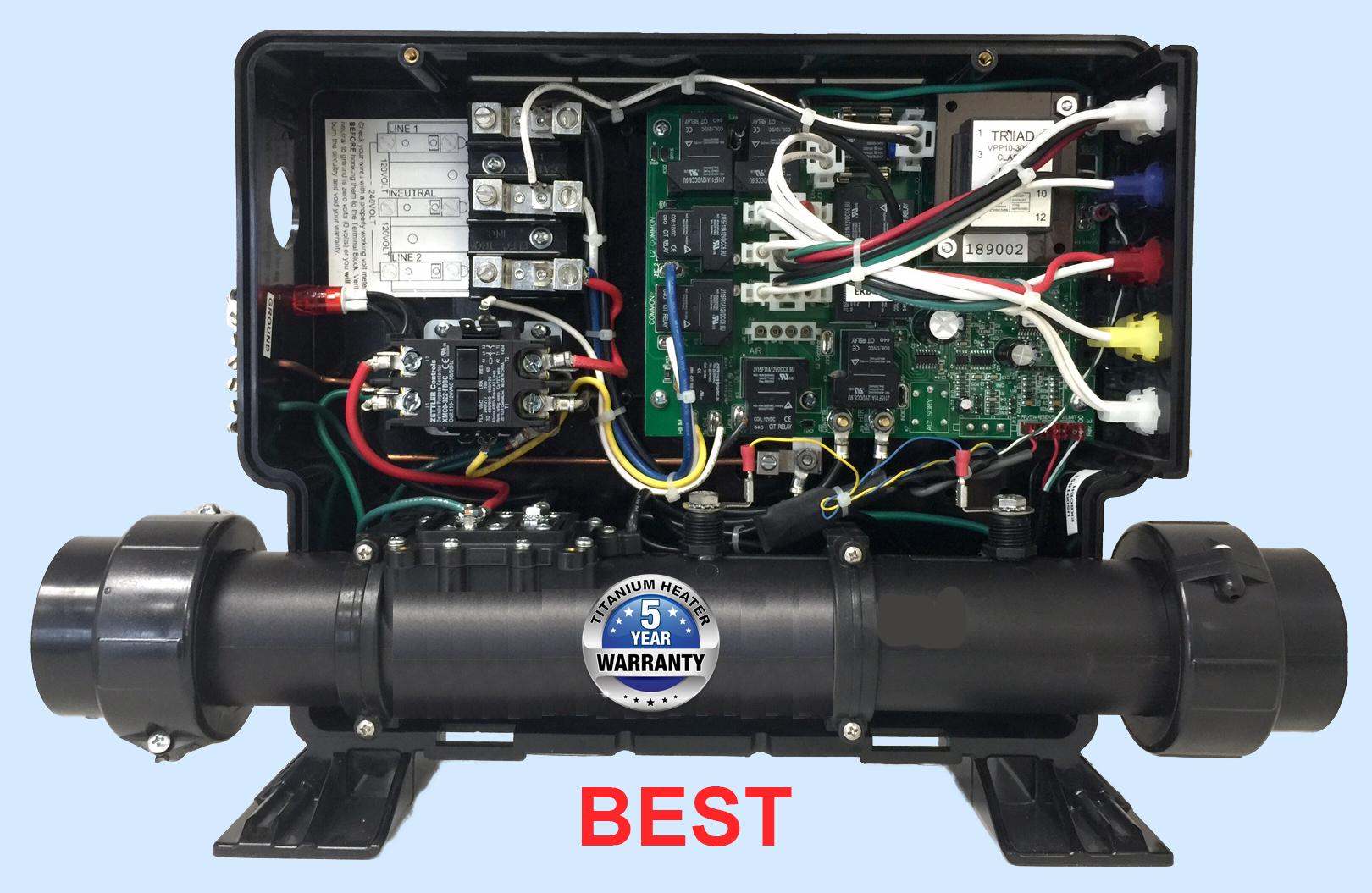 element spa heater obsolete arcadia heating hot tub