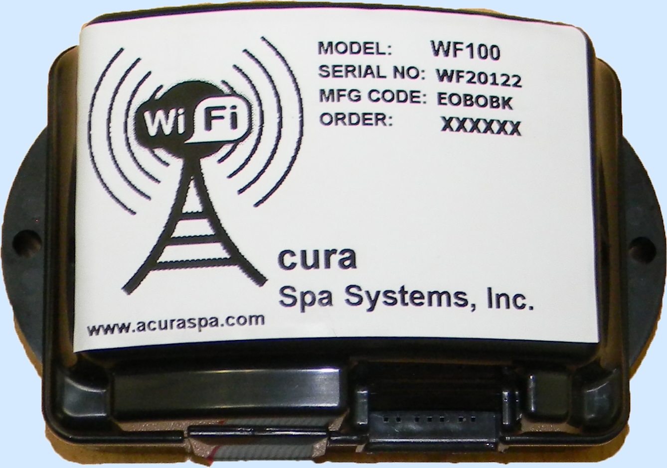 WF-100 Wifi Digital Spa Side Control