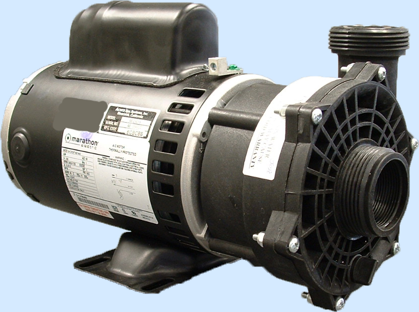 Hot tub pump 3hp for free freight spa pump 3hp for Jacuzzi tub pump motor