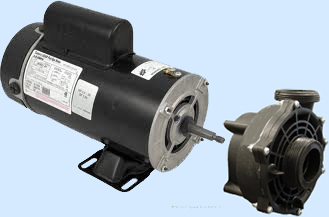 216 95 motor freight fits all catalina spas pumps 48 frame bn62 48 frame motor spa pump wetend